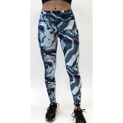 Women's performance marble legging