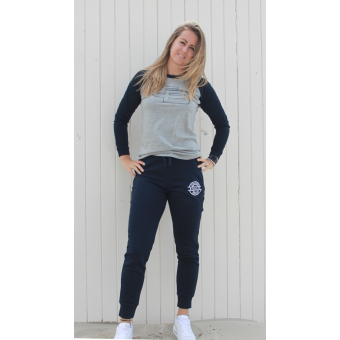 Women's slim fit jog pant navy