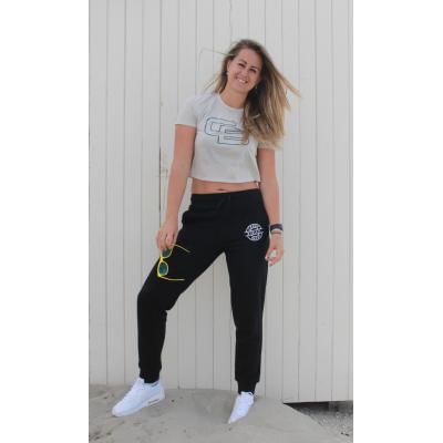 Women's Slim Fit Jog Pants Black