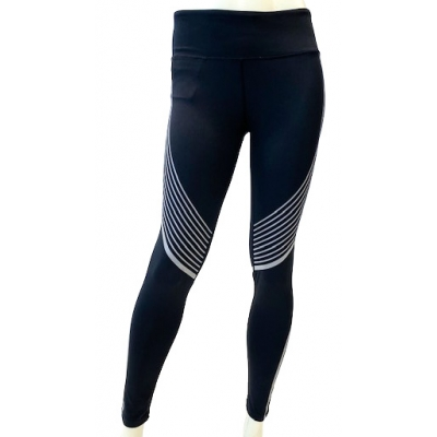 Women's performance reflective legging Black