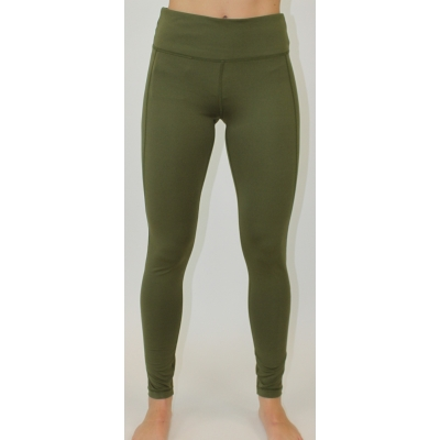 Women's performance legging Olive