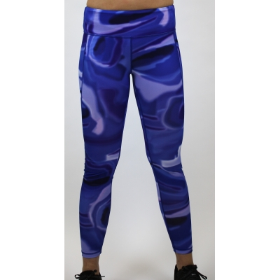Women's performance legging Blue