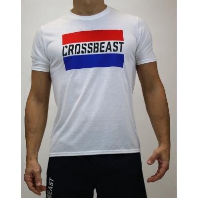 Men's T-Shirt White/Dutch Flag