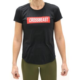 Women's T-Shirt Black/Red