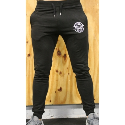 Men's Slim Fit Jog Pants Black