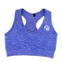 Women's Seamless Blue Marl Bra