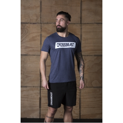 Men's T-Shirt Heather Navy