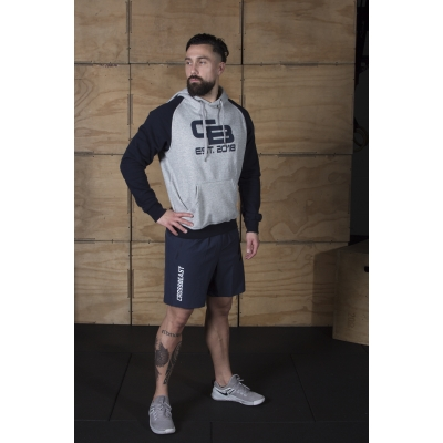 Men's Hoodie two-tone Grey/Navy
