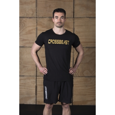 Men's T-Shirt Black/Gold