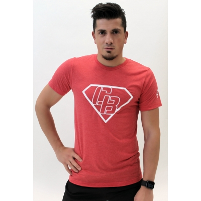 Men's T-Shirt Red/White