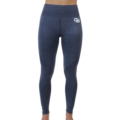 Women's performance legging Denim Blue